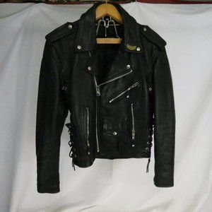Unbranded Men's 36 Motorcycle Leather Coat Patches